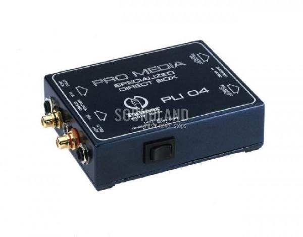 Palmer PLI04 Special DI Box
