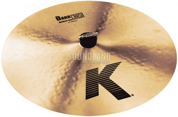Zildjian K Dark Crash Medium Thin 17''