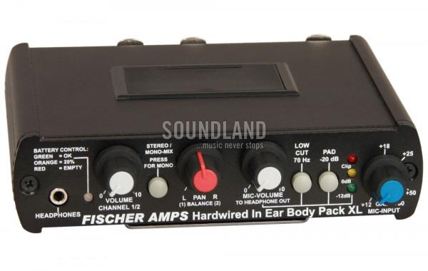 Fischer Amps Hardwired In Ear Body Pack XL