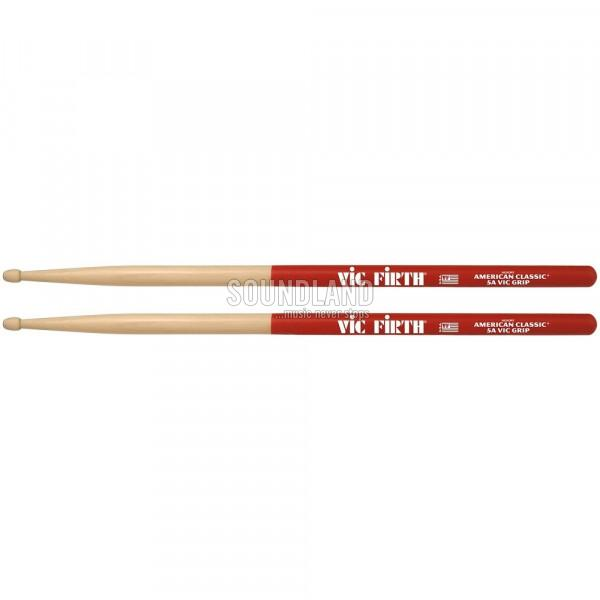 Vic Firth 5AVG Hickory VicGrip Drumsticks