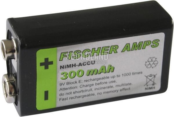 Fischer Amps NiMH 9V Akku