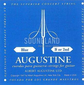 Augustine blau B2 Einzelsaite