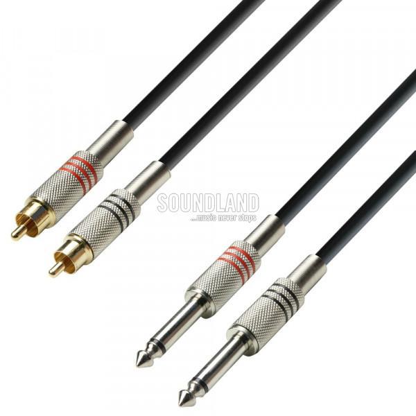 3.0m Audiokabel Standard