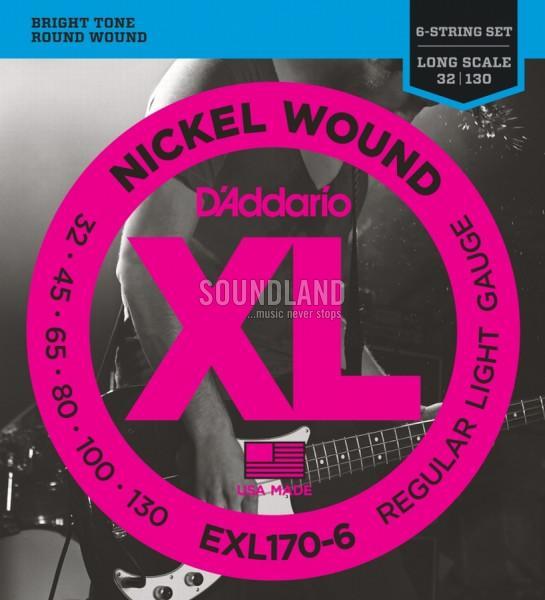 D'Addario EXL170-6 032-130
