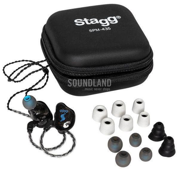 Stagg In Ear Headphones 435 BK