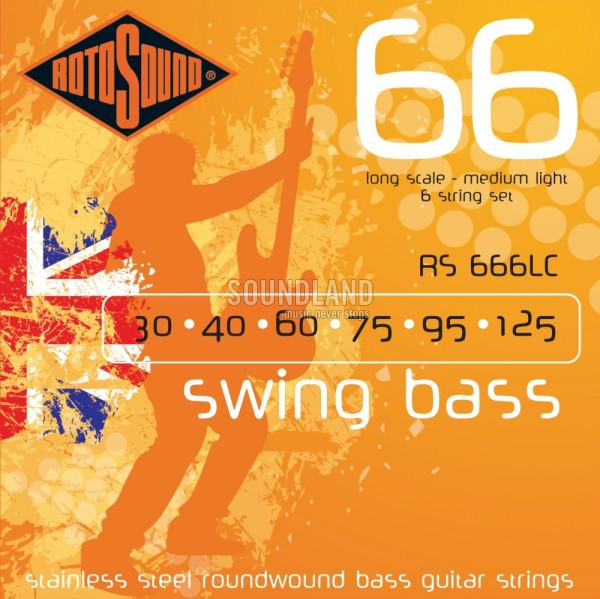 Rotosound RS666LC Swing Bass 030-125