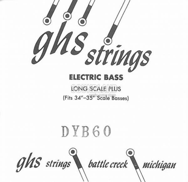 GHS Bass Einzelsaite 060