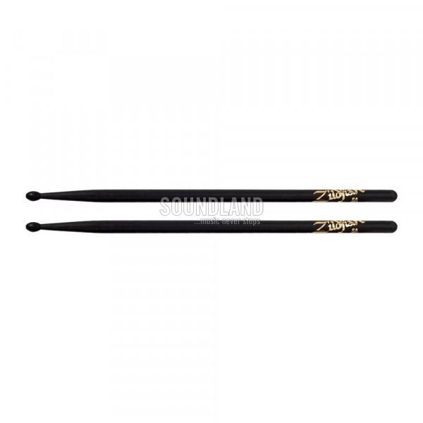 Zildjian 5ANB Hickory Black Nylon Tip Drumsticks