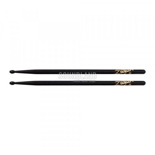 Zildjian 5AB Hickory Black Wood Tip Drumsticks